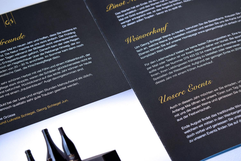 YES! creative digital marketing client georg schlegel corporate design print design