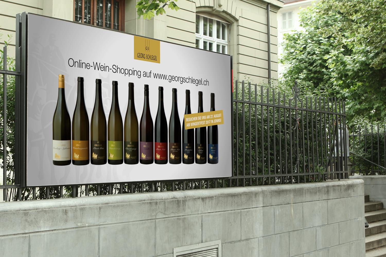 YES! creative digital marketing client georg schlegel animation design branding offline kampagne plakatkampagne apg plakate