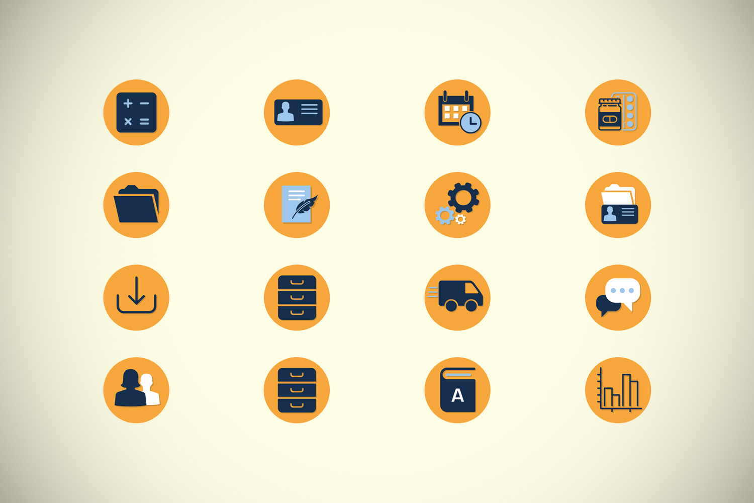 YES! creative digital marketing client ametiq community ui/ux design icons