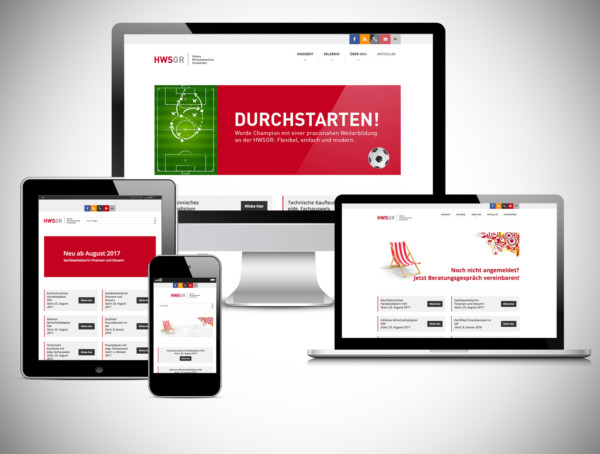 YES! creative digital marketing client hwsgr höhere wirtschaftsschule graubünden branding corporate identity corporate design branding reponsive website tracking analytics display advertising social media marketing