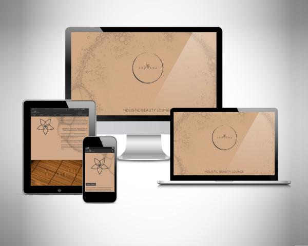 YES! creative digital marketing client aromana responsive design