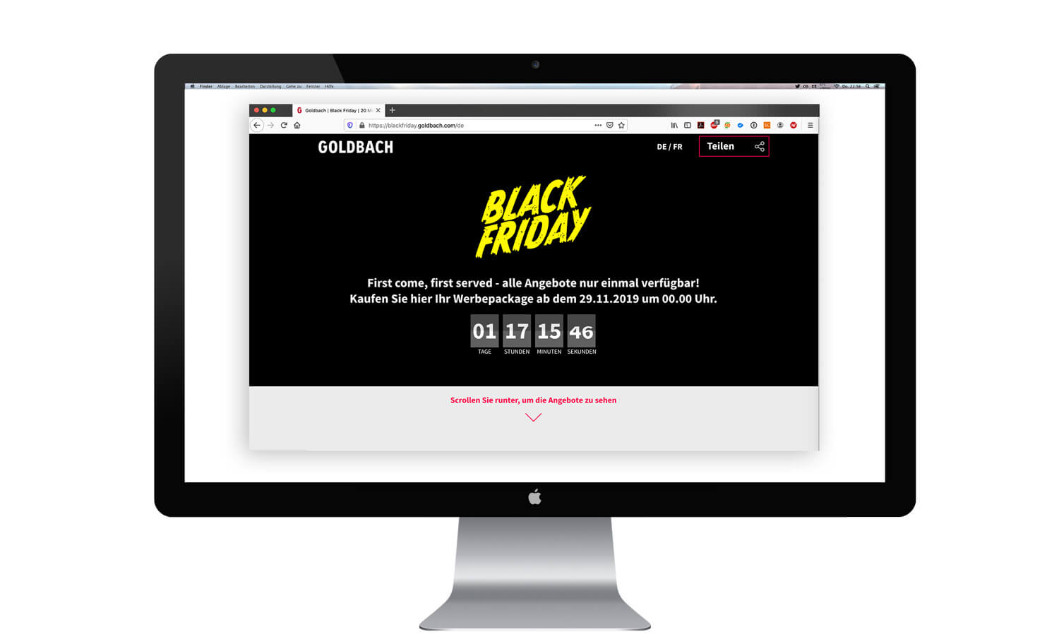 ux ui design goldbach black friday