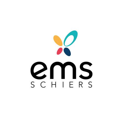 Das neue Logo der EMS Schiers, kreiert von YES!