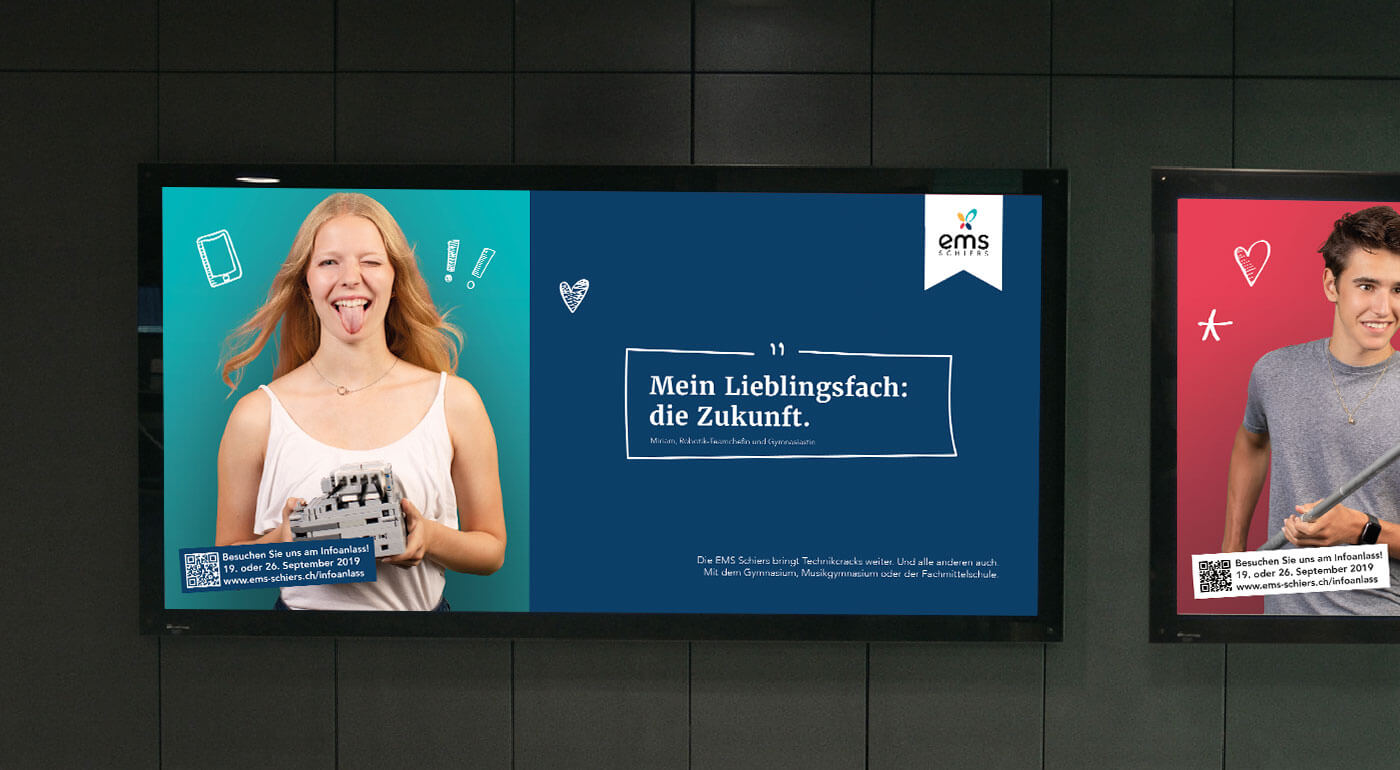 Die EMS Schier in neuem Look nach dem erfolgreichen Rebranding.