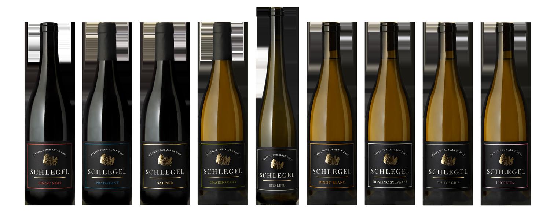 Rebranding Etiketten von Georg Schlegel